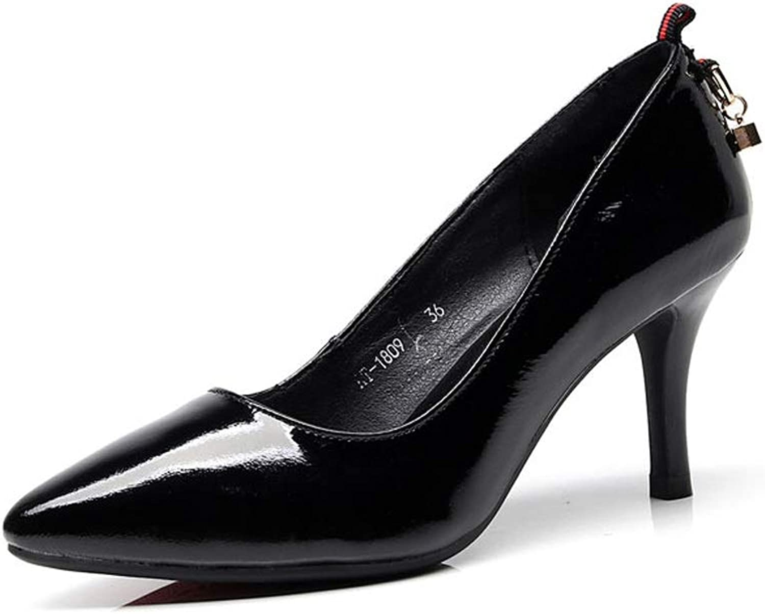 TARSHIN Single shoes High Heels Spring Stiletto Pointed Work shoes Professional shoes
