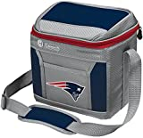Coleman NFL Soft-Sided Insulated Cooler and Lunch Box Bag, 9-Can Capacity, New England Patriots