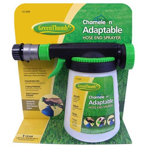 HD Hudson 62140GT Green Thumb Chameleon Hose End Sprayer