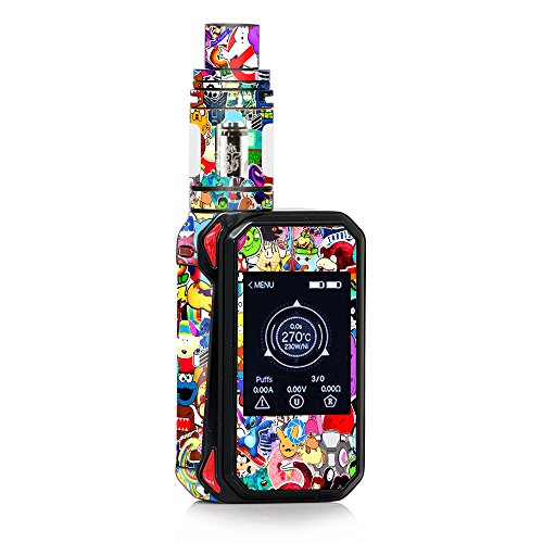 Skin Decal Vinyl Wrap for Smok G-Priv 2 230w touch screen Vape stickers skins cover/Sticker collage,sticker pack