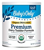 Baby's Only Dairy with DHA Toddler Formula, 12.7 Oz (Pack of 1) | Non...