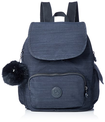 Kipling City Pack S - Zaini Donna, Blu (True Dazz Navy), 27 x 33.5 x...