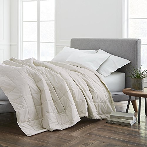 ECO PURE Ecopure Filled Blanket, King, Cream