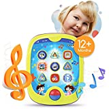 "Boxiki kids Smart Pad for Babies and Children Learning Educational Toddler Tablet Toy for Infants. Learning Games. Learn Numbers, ABC Learning, ""Can You Find?"" Game, Music"