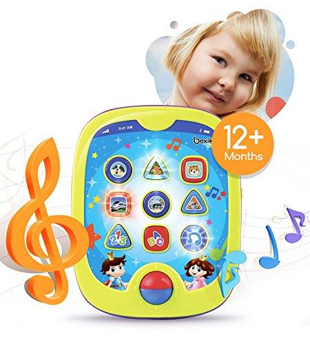 Boxiki Smart Pad per Bambini e apprendimento del Giocattolo educativo per Tablet per Bambini con Giochi di apprendimento. Impara i Numeri, ABC Learnin