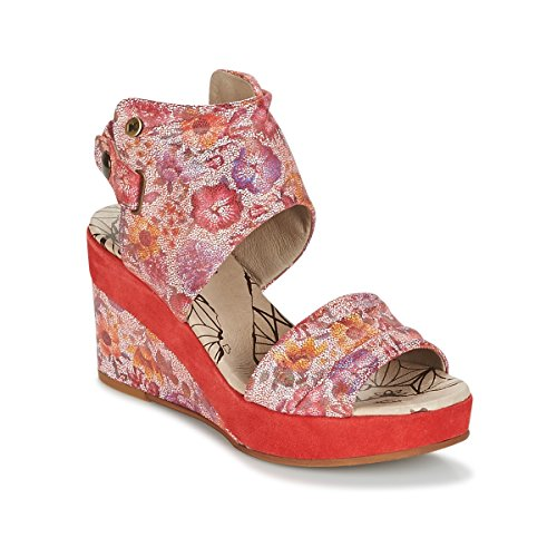dkode Larissa Sandalen/Sandaletten Damen Rot - 40 - Sandalen/Sandaletten Shoes