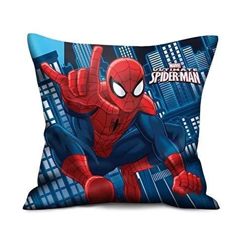 Spiderman Kissen (2 Motive) [35x35 cm] [Import allemand]