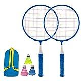 KanCai Set de bádminton para niños Kit Ligero de bádminton para niños Juguetes de bádminton con para el Juego de Deportes de Playa al Aire Libre