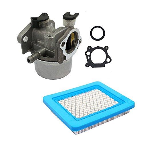 OuyFilters Reemplaza el carburador con filtro de aire para Briggs & Stratton 790845 799871 799866 796707 794304 Quantum Engine 4 Ciclos cortacésped Toro Craftsman Yardman Snapper Carburador Fit