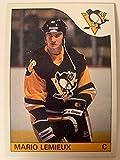 Mario Lemieux Pittsburgh Penguins 1985 Topps #9 Rookie Card RC - Hockey Slabbed Rookie Cards. rookie card picture