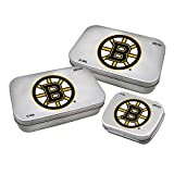 Worthy Promotional NHL Boston Bruins Decorative Mint Tin 3-Pack with Sugar-Free Mini Peppermint Candies