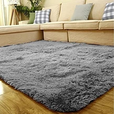 831464d8c42 ACTCUT Super Soft Indoor Modern Shag Area Silky Smooth Fur Rugs Fluffy Rugs  Anti-Skid