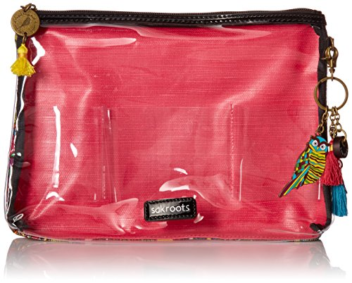 Sakroots Women's Artist Circle Travel Kit, Rainbow Spirit Desert, One Size