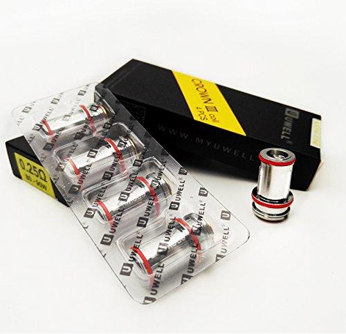 Uwell Crown 3 Ersatz Coils 0.25 ohm (80 - 90W) Enthält Kein Nikotin