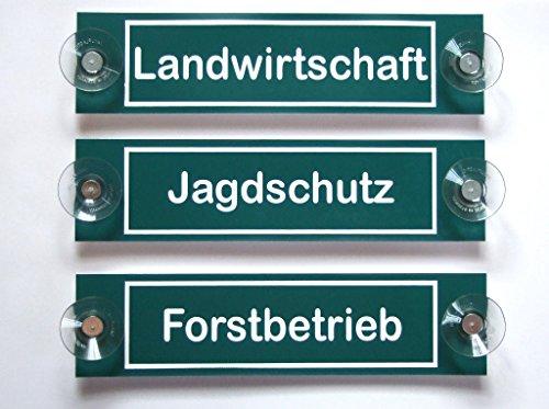 Hinweisschild,Landwirtschaft,Forstbetrieb,Jagdschutz, graviert 200 x50 mm