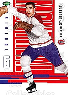 (CI) Dollard St. Laurent Hockey Card 2003-04 Parkhurst Original Six Montreal Canadiens (base) 55 Dollard St. Laurent