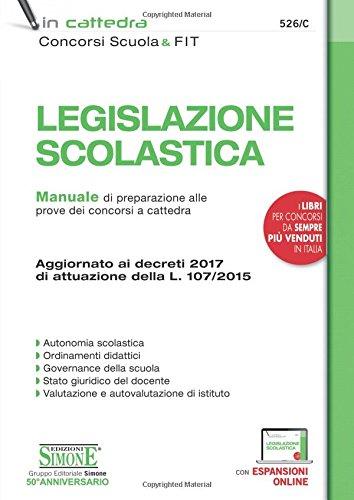 Legislazione Scolastica