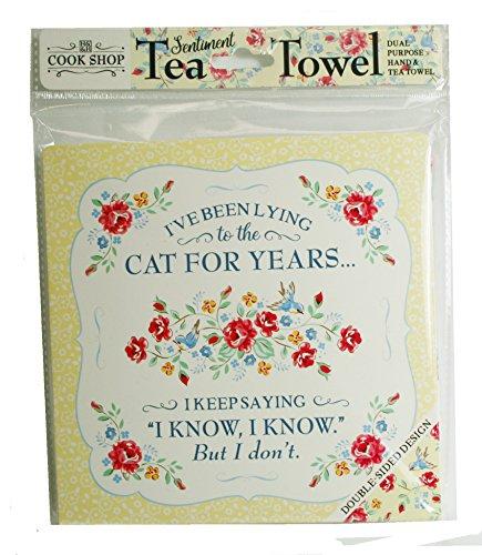 Cook Shop 525.856.253,3cm I 've Been liegend bis die Katze für Jahre'Tee...