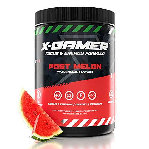 X-Gamer X-Tubz - Pulver - Shake It Yourself - 600g (60 servings) (Post Melon)