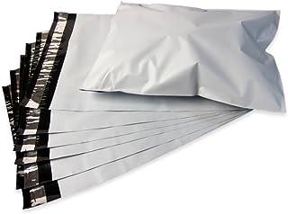 アリアケ梱包 宅配ビニール袋 宅配袋 厚み薄手60ミクロン 巾250×高325+フタ50mm A4 色 白 強力テープ付き 2LDW25-32.5 (100枚セット)
