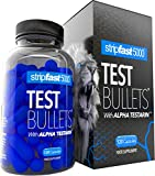 Testosterone Boosters For Men Test Bullets with Alpha Testarin Complex Ultra Strong 30