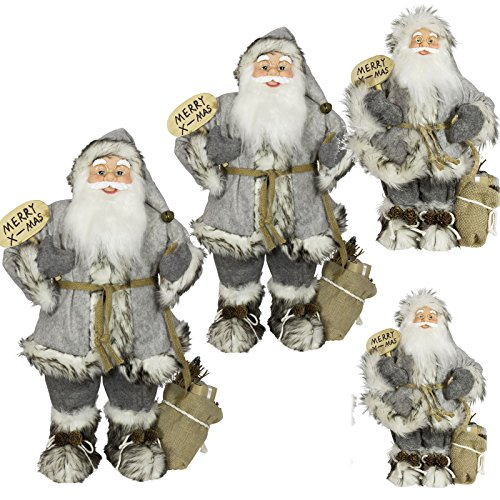 LD Kerstmis Deko 1pc 30cm Kerstman Deko Kerstmis Santa Clause figuur Groot Kerstmis (levertijd is 3-7 dagen)