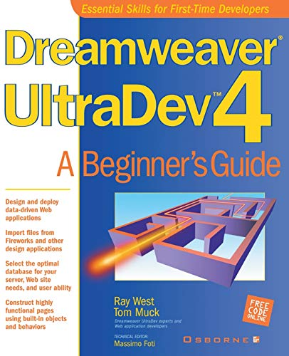 Dreamweaver UltraDev 4: A Beginner's Guide