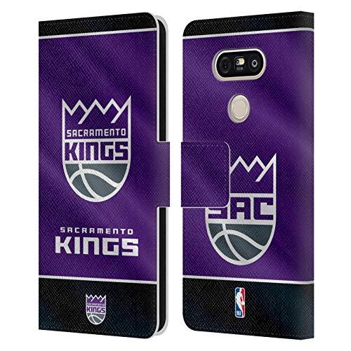 Head Case Designs Ufficiale NBA Banner 2019/20 Sacramento Kings Cover in Pelle a Portafoglio Compatibile con LG G5 SE / G5 Lite