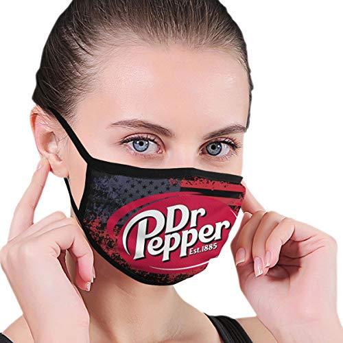 Renfkbgf Today's Good Mood is Sponsored by Dr Pepper 2 Nahtloser staubdichter waschbarer Kopftuchmaske Wiederverwendbarer Schal
