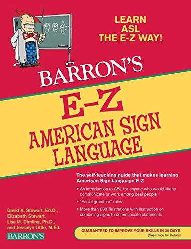 E-Z American Sign Language (Barron s Easy Way)