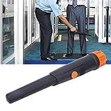 Mothinessto Detector de Metales subterráneo LED Resistente al Agua de Alta sensibilidad portátil para búsqueda de Oro en Suelo o Agujeros