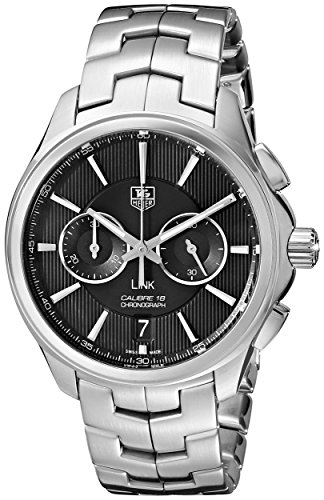 TAG Heuer Men's THCAT2110BA0959 Link Analog Display Swiss Automatic Silver Watch