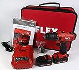 FLEX 450.561, 2-Gang Akku-Bohrschrauber, 10,8 V, Schwarz/Rot
