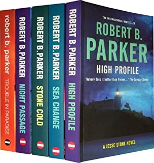 Jesse Stone Novels Collection: High Profile, Sea Change, Stone Cold, Trouble in Paradise, Night Passage