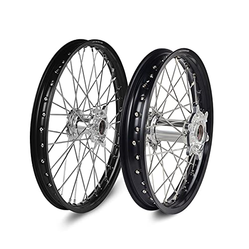 LAAGFC Front Rear Off Road Wheels Rims For EXC EXCF EXC-F 125 150 250 350 450 30 2003-2019 Dirt Bike