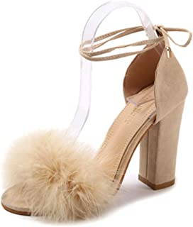 High-Heeled Sandals Summer Shoes Fashion Women's Shoes Buckle Sandals