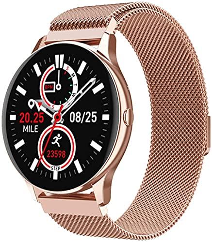 hwbq Reloj inteligente Bluetooth llamada Smartwatch puede recibir/hacer llamadas monitor mujeres relojes-C