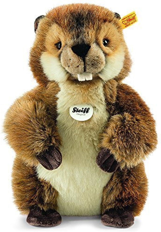edición limitada en caliente Steiff Steiff Steiff Nagy Beaver Plush Juguete (marrón) by Steiff  salida