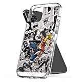 Phone Case Luffy One Piece Compatible with iPhone 6 6s 7 8 X XS XR 11 Pro Max SE 2020 Samsung Galaxy Waterproof Drop Scratch