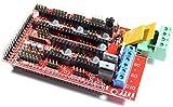 RepRap Compatible con Arduino Mega Pololu Shield (RAMPS) 1.4 para impresora 3d, Prusa Mendel