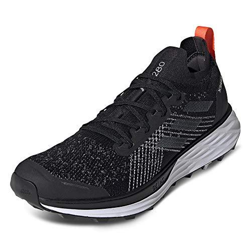 adidas Terrex Two Parley, Zapatillas de Running Hombre, NEGBÁS/Gritre/NARAUT, 43 1/3 EU