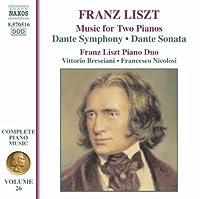 Dante Symphony / Dante Sonata 26 by FRANZ LISZT (2007-10-30)