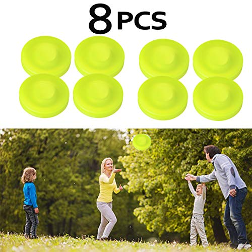 diaobaol Zip Chip Frisbee Mini Pocket Flexible Nuevo Spin Catching Game Flying Disc ZipChip