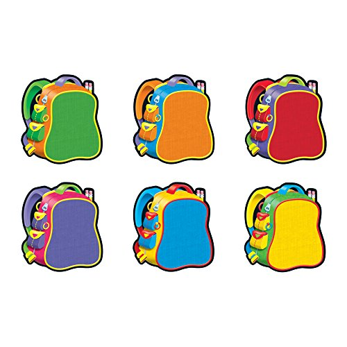 TREND enterprises, Inc. Bright Backpacks Classic Accents Variety Pack, 36 ct