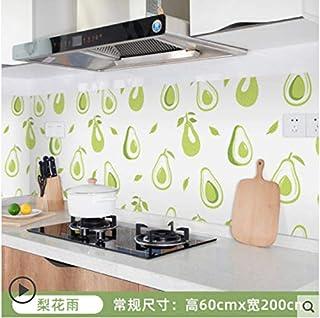 Autocollant mural étanche pour armoire de cuisine carrelée étanche à l'huile pour cuisinière 5