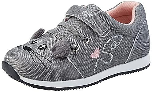 Chicco Scarpa Flexy, Zapatos para BEB Niñas, Acero, 21 EU