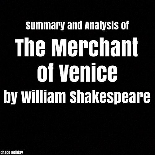 Summary and Analysis of The Merchant of Venice by William Shakespeare audiobook cover art
