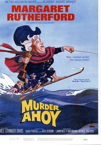 Moviestore Margaret Rutherford als Miss Marple in Murder Ahoy 91x60cm Farb-Posterdruck