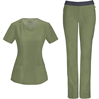 Infinity by Cherokee Antimicrobial 1124A Women/'s Pant Medical Uniforms Scrubs