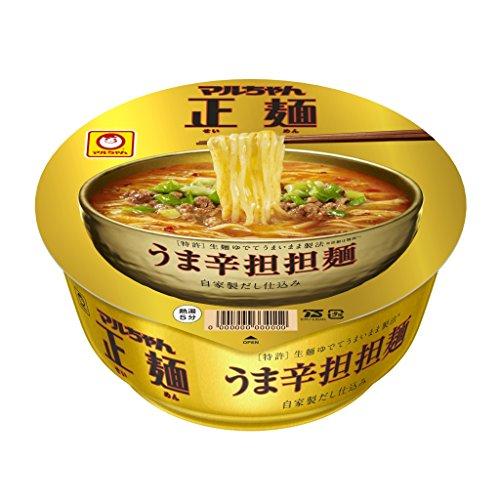 マルちゃん 正麺 うま辛担担麺 どんぶり 120g 1ケース(12食入)